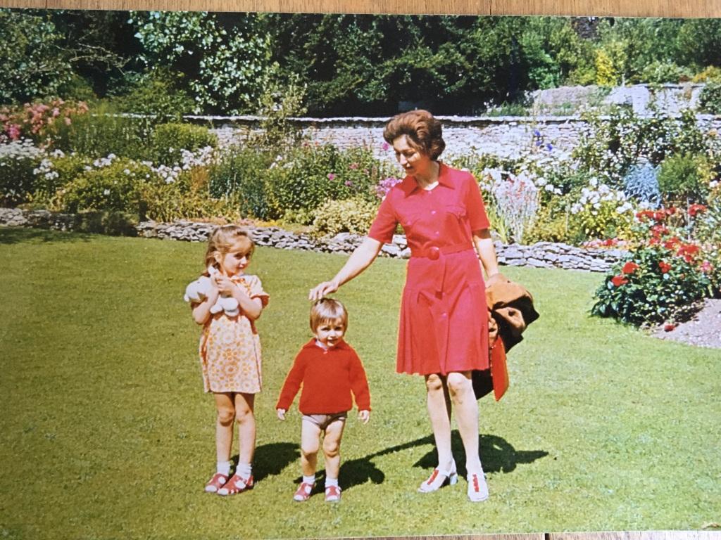 Colette Brosse and her family in Ruislip